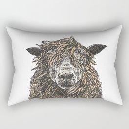 Cotswold Sheep Rectangular Pillow
