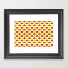 Hob Nob Citrus 5 Framed Art Print