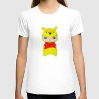 winnie the pooh T-shirts featuring A Boy - Winnie-the-Pooh by Christophe Chiozzi