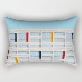 S04-1 - Facade Le Corbusier Rectangular Pillow