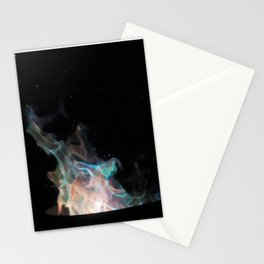 Blue Flames / Stationery Cards