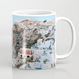 Whitewashed | Santorini, Greece Coffee Mug