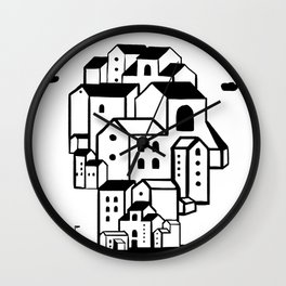 where is your home? Wall Clock