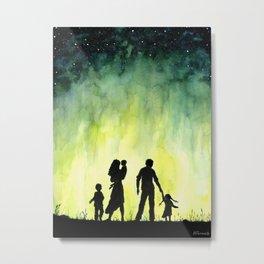 Family Art, Parents Art, Mother Art Metal Print