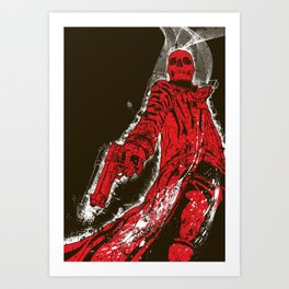 Agent from Hell Art Print