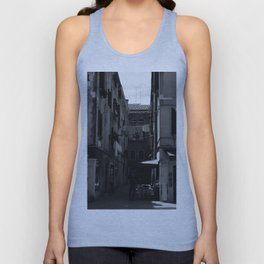 Calle Marcello b&w Unisex Tank Top