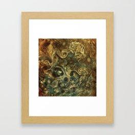 Jupiter's Clouds 2 Framed Art Print