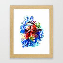 Carpa Koi Framed Art Print