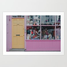 London colours Art Print