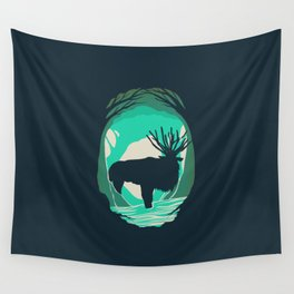God Of The Forest Wall Tapestry