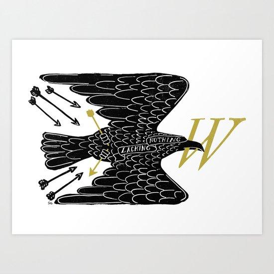 Persevering To Wisdom  Art Print
