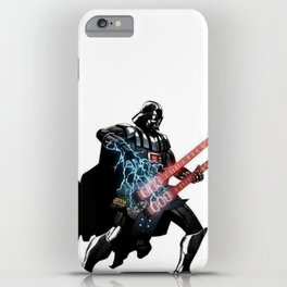 Darth Vader Force Guitar Solo iPhone Case
