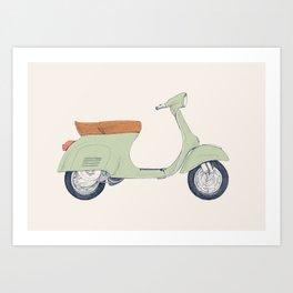 Italian Moto Art Print
