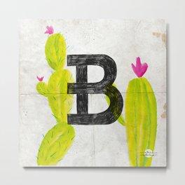 Cactus B Metal Print