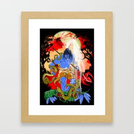 Rudra Framed Art Print