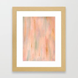 Desert Sunset in Acrylic v.3 Framed Art Print