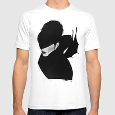 The Times They Are A-Changin' White Mens Fitted Tee SMALL