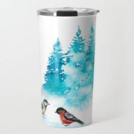 The Heart Of Winter Travel Mug