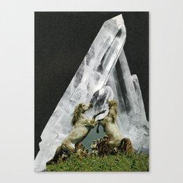 //NEW MOON UNIT// Canvas Print