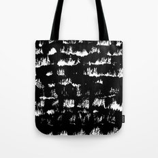 Black pattern#1 Tote Bag