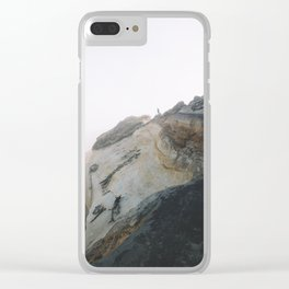 Morning Gold at Cape Kiwanda Clear iPhone Case