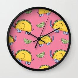 Taco Bellephant Wall Clock