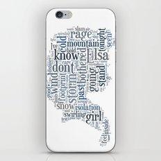 Elsa  iPhone & iPod Skin