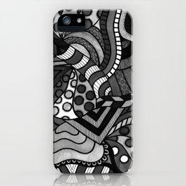 Locomotion B&W iPhone Case