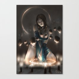 Levitation! Canvas Print