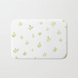 Leafy Pattern Bath Mat