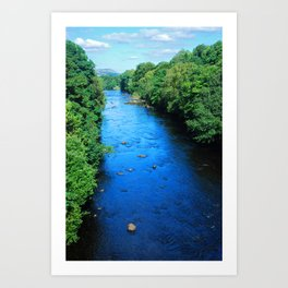 River Tay, Scotland Art Print