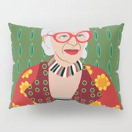 Iris Apfel Pillow Sham
