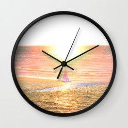 Sail dream Wall Clock