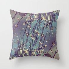 Flower Flip Throw Pillow