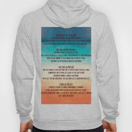 The Four Agreements 13 Hoody