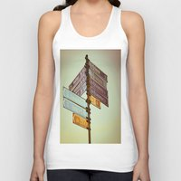 finland Tank Tops featuring Oh, Suomi (Finland) by Kim Ramage