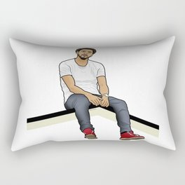 J Cole Rectangular Pillow