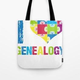 Genealogy Family Tree Ancestor Research Ancestors Gift Tote Bag
