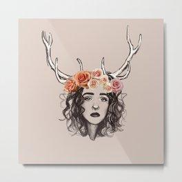 Deer Kenna Metal Print