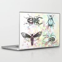 bugs Laptop & iPad Skins featuring Bugs! by Maria Enache