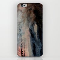 imagerybydianna iPhone & iPod Skins featuring corona de cenizas by Imagery by dianna