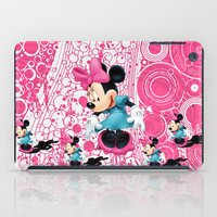 minnie mouse iPad Cases featuring Minnie Mouse Cartoon by Maxvision