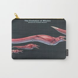 The Evolution of Whales (Muscle Study) Carry-All Pouch