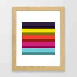Accordion Fold Series Style I Framed Art Print