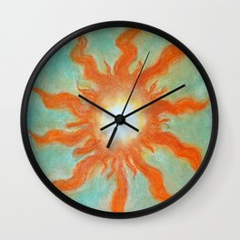 Fire Soul Wall Clock