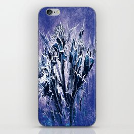 Thistle and Weeds_deep purple iPhone Skin