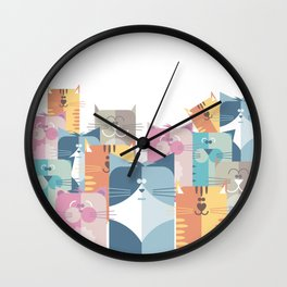 Too Many Cats? Wall Clock