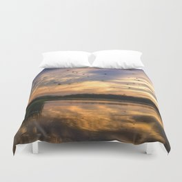 Coming in to Roost Duvet Cover