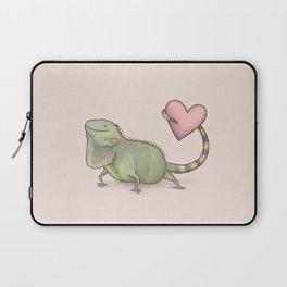 Iguana Love You Laptop Sleeve