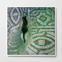 Ephesus Cat Metal Print